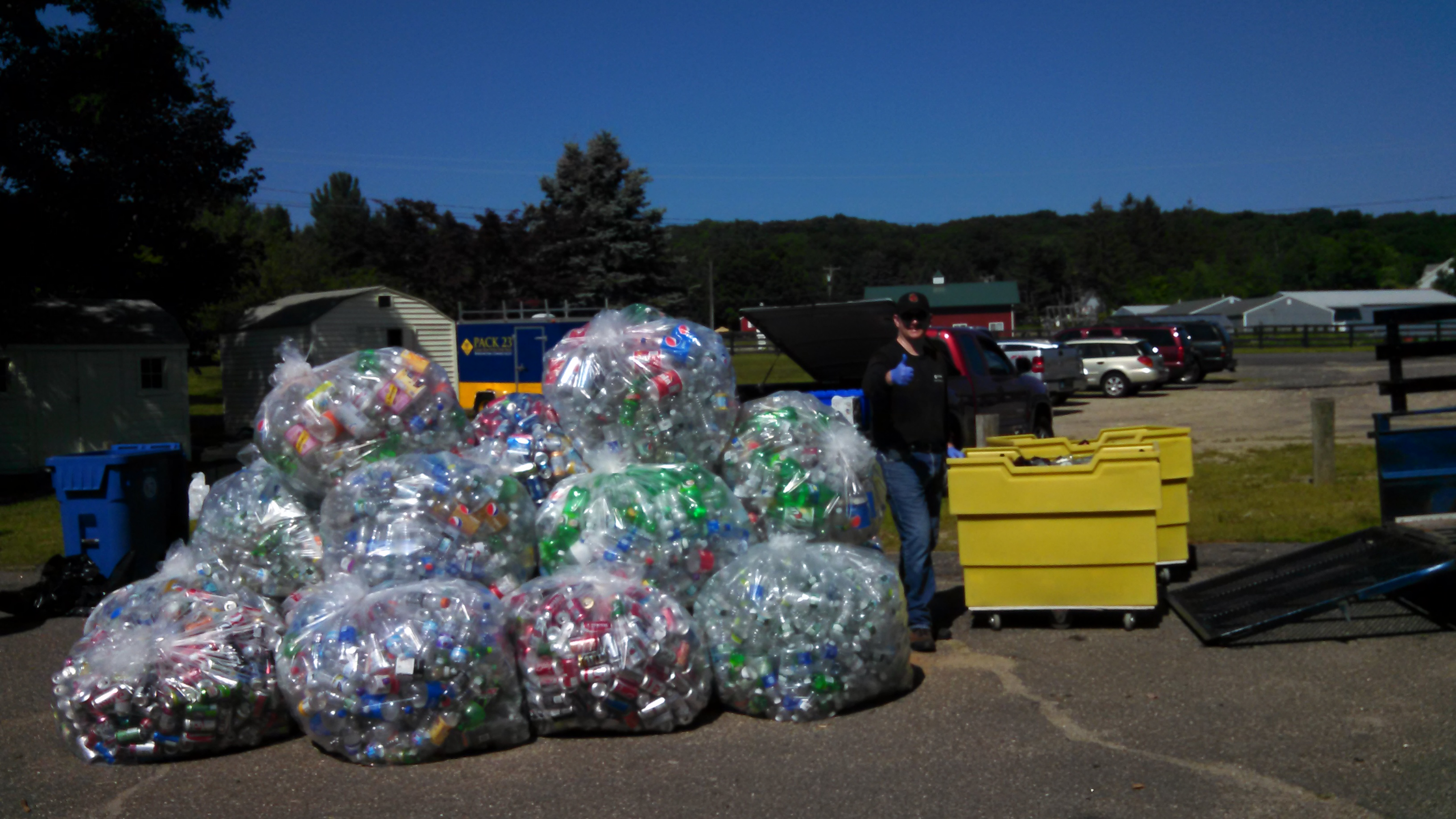 July 2015 Can & Bottle Drive (7)