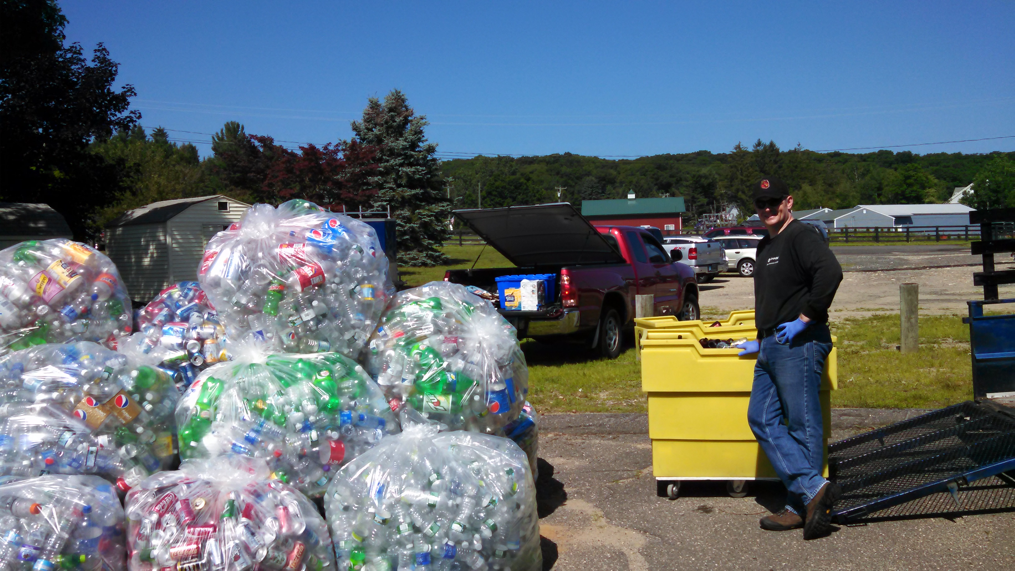 July 2015 Can & Bottle Drive (8)